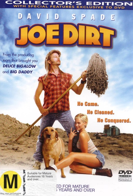 Joe Dirt on DVD