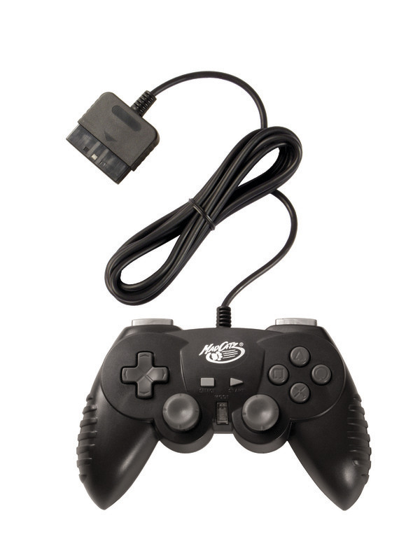 Mad Catz Hand Controller - Black for PlayStation 2