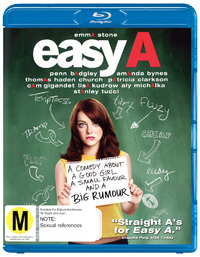 Easy A on Blu-ray