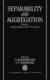 Separability and Aggregation by W.M. Gorman