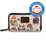 Loungefly Star Wars Star Wars Tattoo Flash Print Wallet