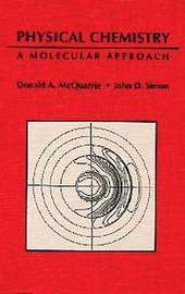 Physical Chemistry by Donald A. McQuarrie image