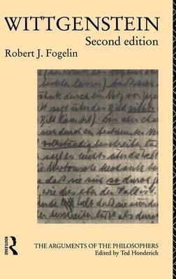 Wittgenstein by Robert J Fogelin