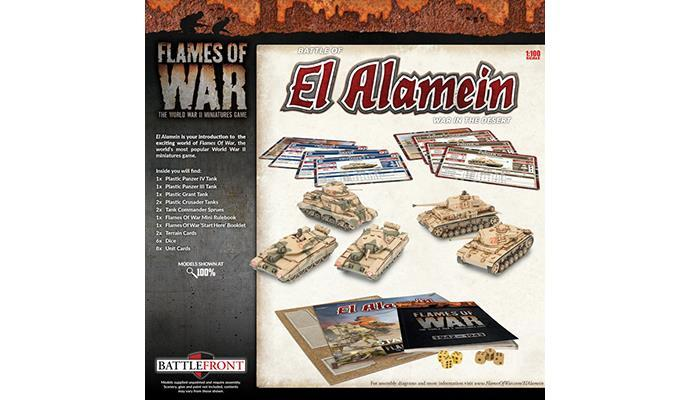 Flames of War: El Alamein Starter Box image