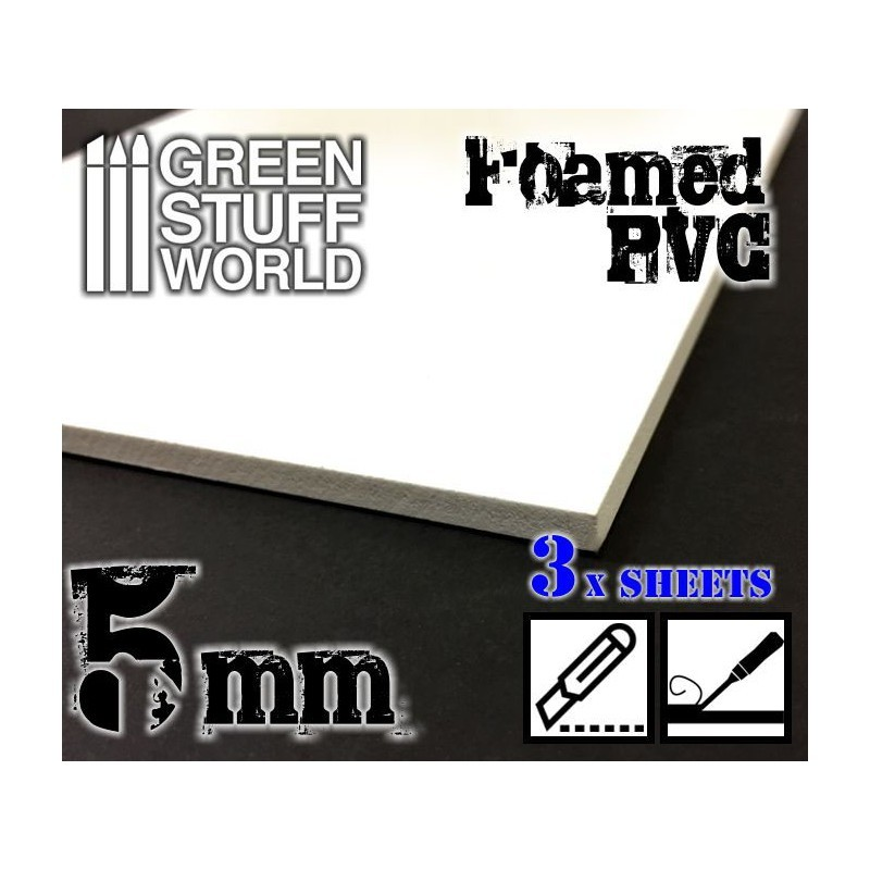 Green Stuff World Foamed PVC 5 mm image