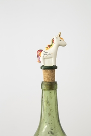 Natural Life: Bottle Stopper - Unicorn