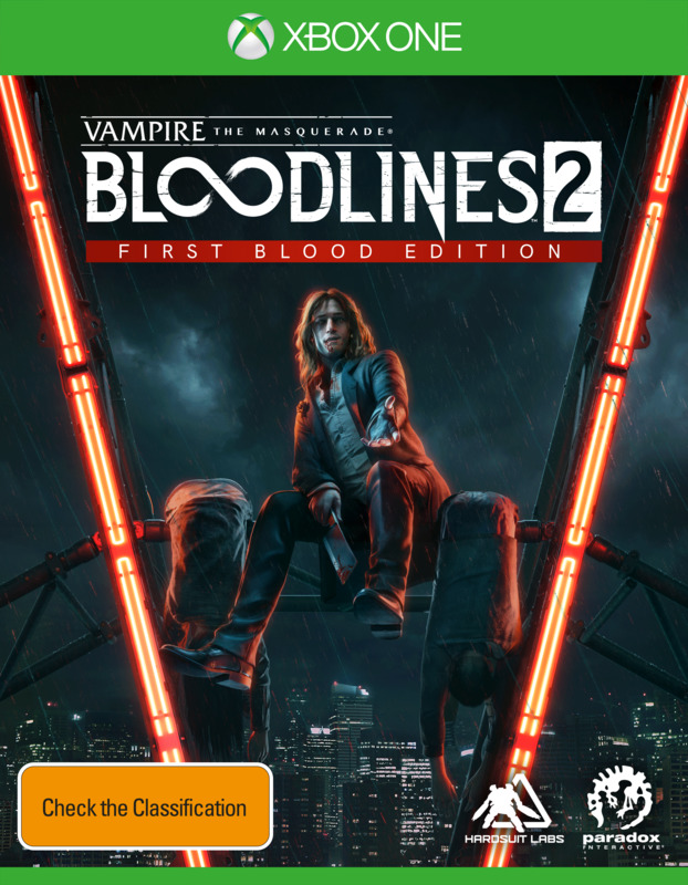 Vampire: The Masquerade – Bloodlines 2 First Blood Edition for Xbox One