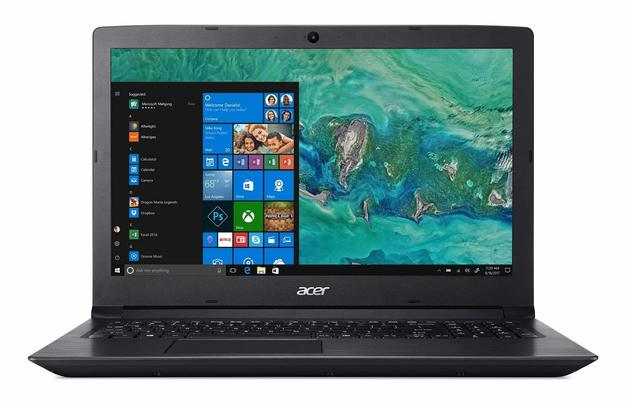 "Acer 15.6"" Aspire 3 256GB+1TB 8GB RAM W10 Home"