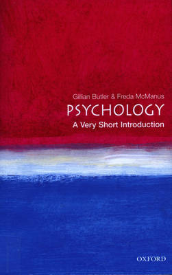 Psychology: A Very Short Introduction by Gillian Butler image