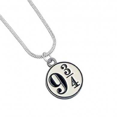 Harry Potter: Pendant & Necklace - Platform 9 3/4