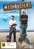 MythBusters: Complete Season 8 on DVD, Blu-ray