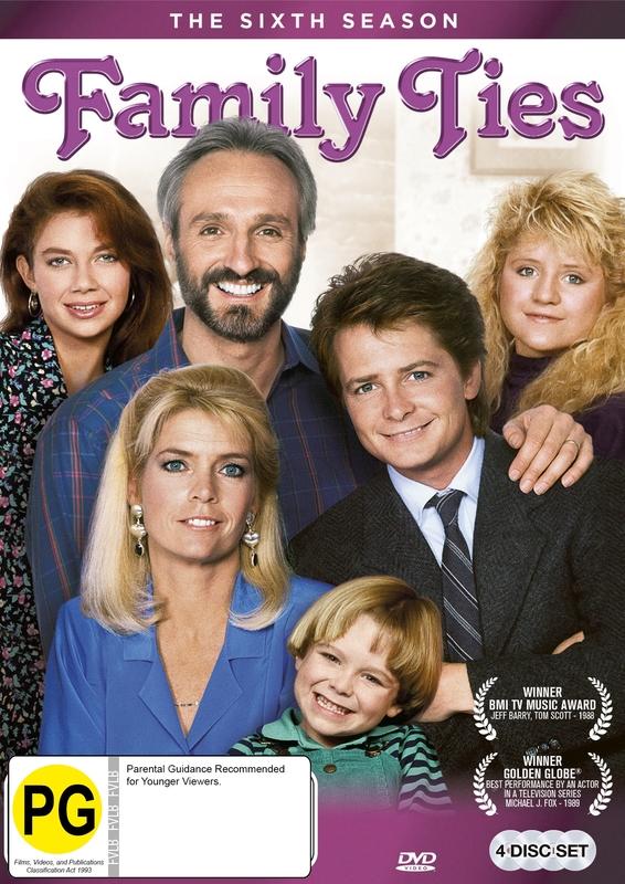 Family Ties - The Complete Sixth Season on DVD