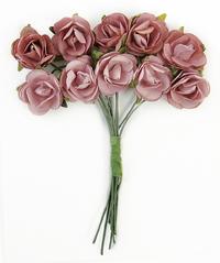 Kaisercraft Mini Paper Blooms - Dusty Pink
