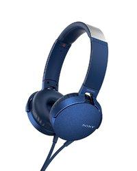 Sony MDR-XB550AP Overhead Extra Bass Headphones - Blue