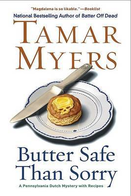Butter Safe Than Sorry by Tamar Myers image