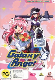 Galaxy Angel Z - Vol 2 - Galaxy Size Combo on DVD image