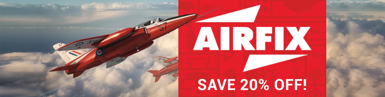 Save 20% off Airfix this March!