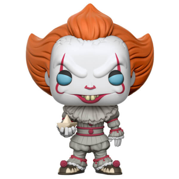IT (2017) - Pennywise (with Boat) Pop! Vinyl Figure (with a chance for a Chase version!)