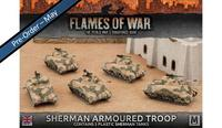 Flames of War: Sherman Armoured Platoon