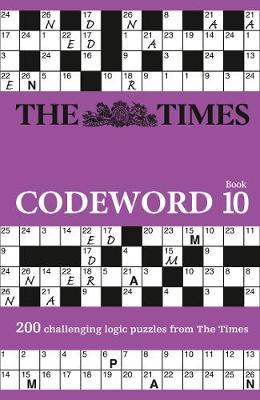 The Times Codeword 10 by The Times Mind Games
