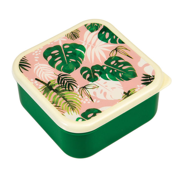 Snack Boxes - Tropical Palm Set
