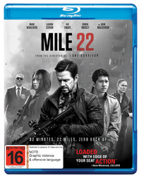 Mile 22 on Blu-ray