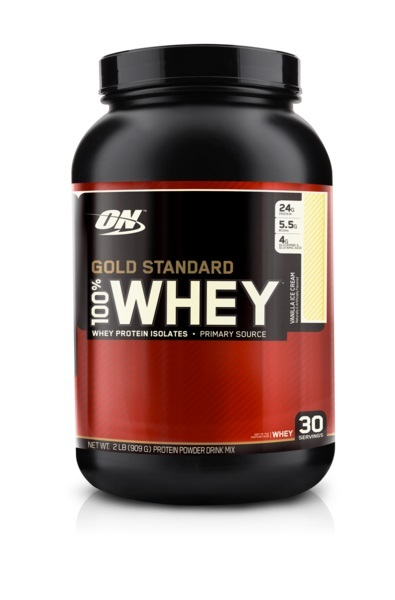 Optimum Nutrition Gold Standard 100% Whey - Vanilla Ice Cream (907g)