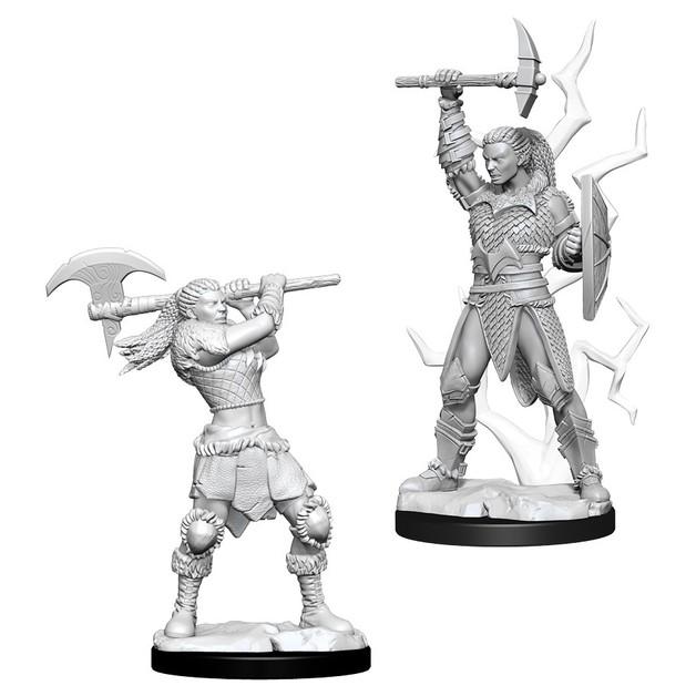 D&D Nolzur's Marvelous: Unpainted Miniatures - Female Goliath Barbarian