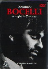 Andrea Bocelli -  Night In Tuscany on DVD