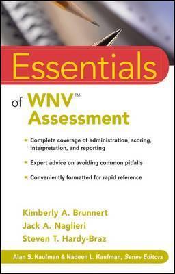 Essentials of WNV Assessment by Kimberly A Brunnert