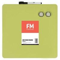 FM Frameless Magnetic Dry-Erase Board (Green)