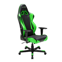 DXRacer Racing Series LED Gaming Chair (Black & Green) for