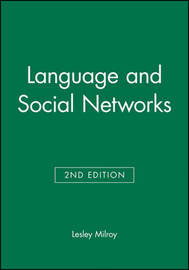 Language and Social Networks by Lesley Milroy image