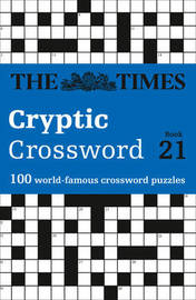 The Times Cryptic Crossword Book 21 by The Times Mind Games