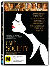 Café Society on DVD image