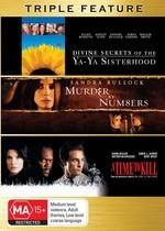 Divine Secrets Of The Ya-Ya Sisterhood / Murder By Numbers / A Time To Kill - Triple Feature (3 Disc Set) on DVD