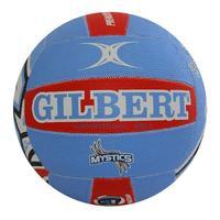 Gilbert ANZ Premiership Mystics Supporter Netball (Size 5) image