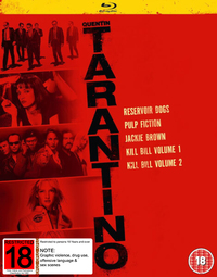 Quentin Tarantino Boxset on Blu-ray image