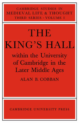 Cambridge Studies in Medieval Life and Thought: Third Series: Series Number 1 by Alan B. Cobban image