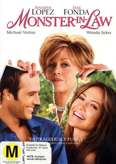 Monster In Law on DVD image