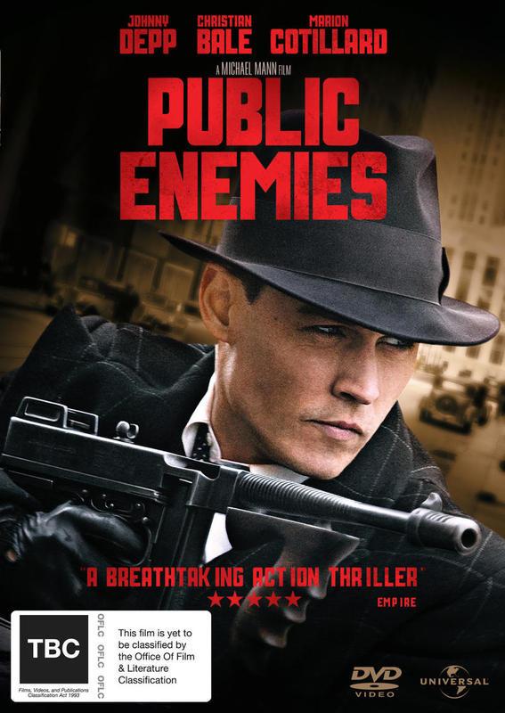 Public Enemies on DVD