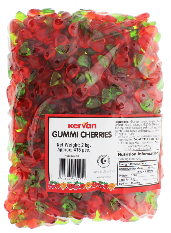 Kervan Gummi Cherries (2kg)