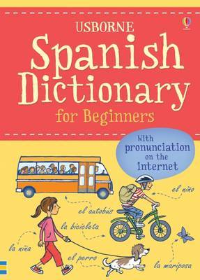Spanish Dictionary for Beginners by Helen Davies image