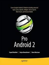 Pro Android 2 by Sayed Y Hashimi image