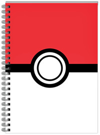Pokemon Notebook Pokeball A5