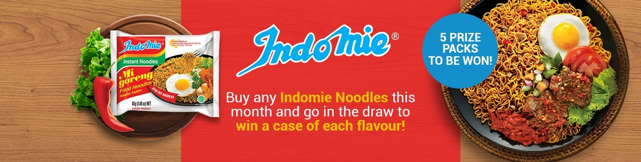 Buy Indomie Noodles & WIN!