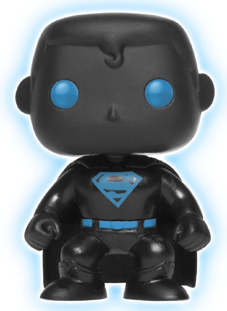 Justice League - Superman Silhouette (Glow) Pop! Vinyl Figure image