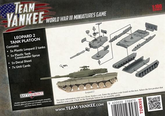 Team Yankee: Dutch Leopard 2 Tank Platoon image