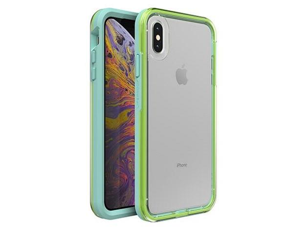 Lifeproof: Slam Case for iPhone Xs Max - Sea Glass Clear Lime