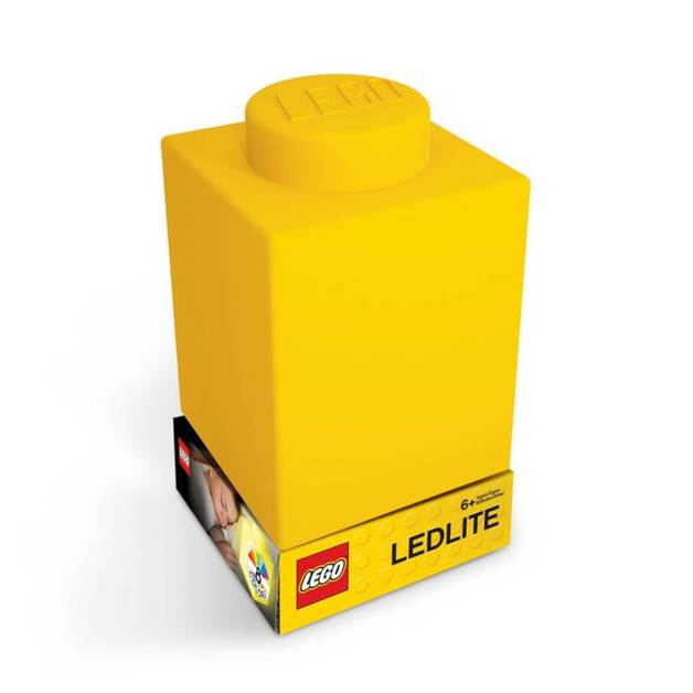 LEGO Silicone Night Light - Yellow Brick